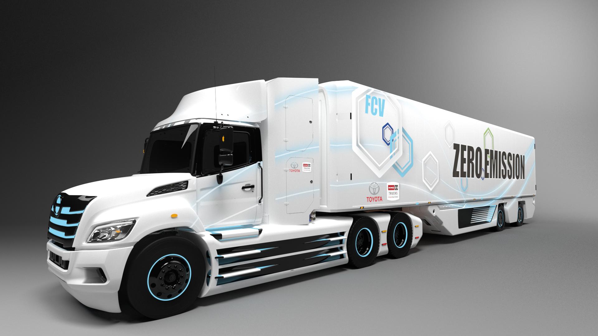 トヨタと日野、北米で燃料電池大型トラックを共同で開発 | ニュース ...