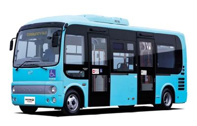 【日野 ポンチョ】誰でも気軽に乗れる小型ノンステップバス